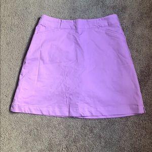 Nike Golf Ladies Purple Skorts